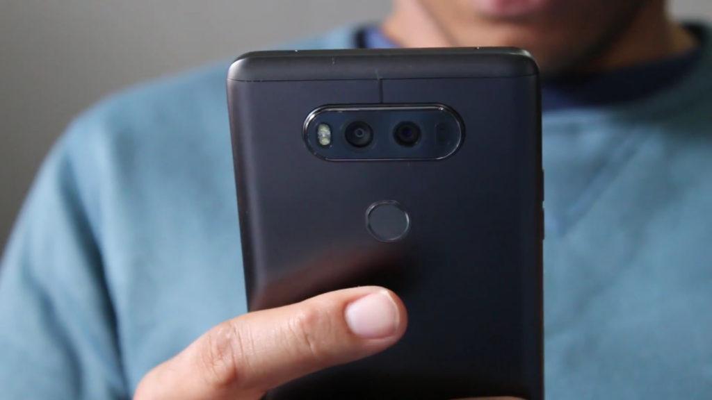 LG V20 fingerprint scanner