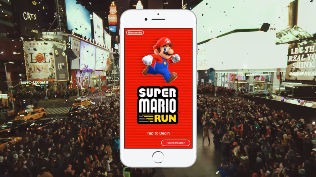 Super Mario Run, mobile games
