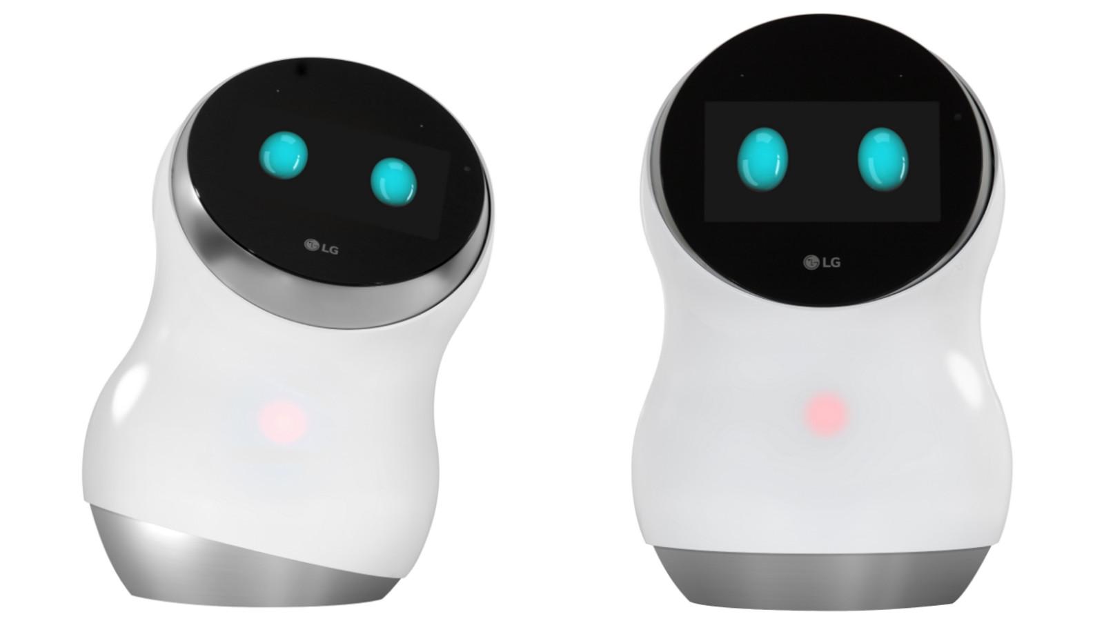 LG Hub Robot CES 2017