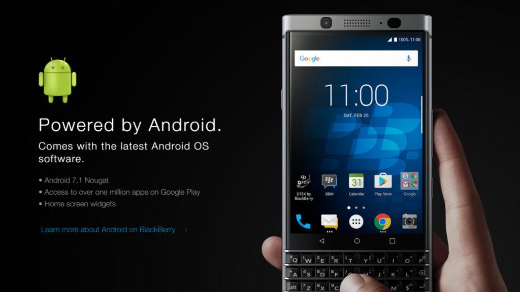 BlackBerry KEYone,BlackBerry Mercury