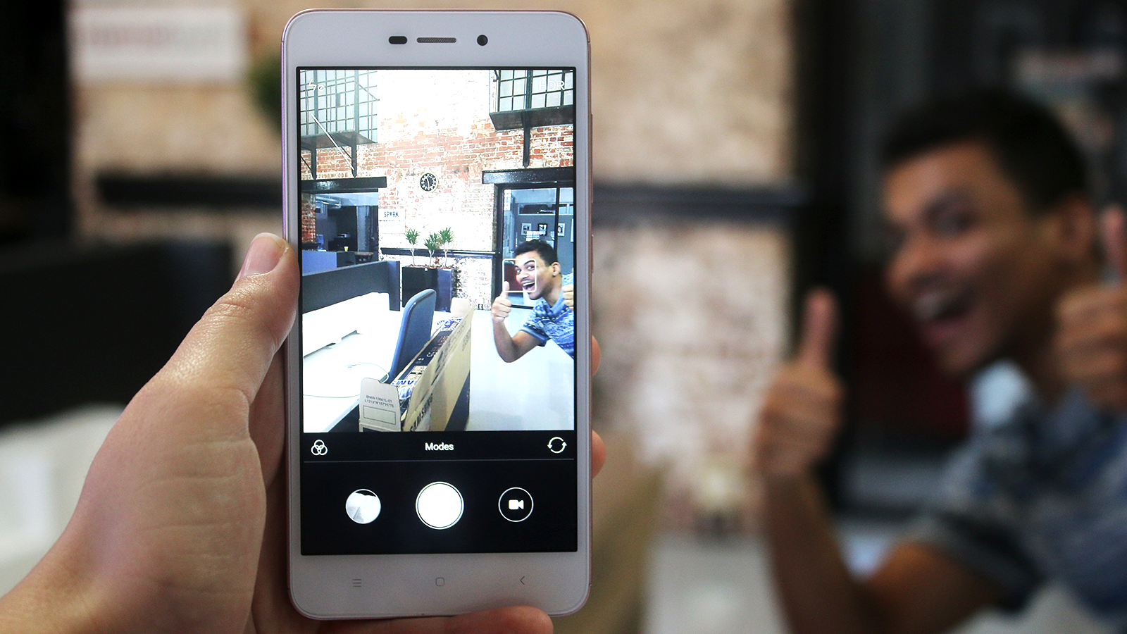 The Redmi 4A's camera software is almost exactly the same as the 4X