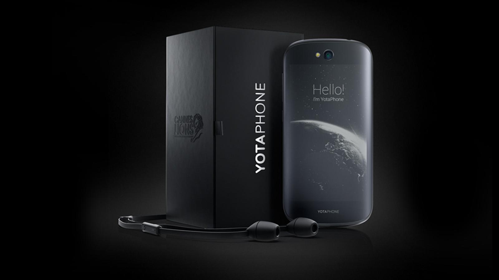 YotaPhone 2,e-ink smartphones