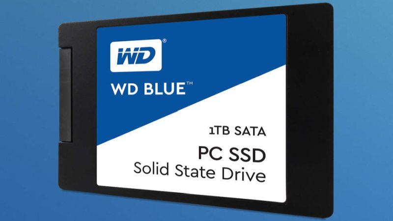 wd ssd drives blue