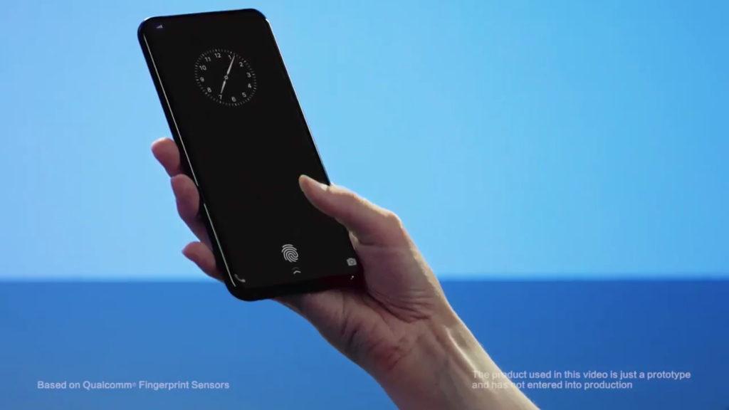 fingerprint scanners,Qualcomm,Vivo
