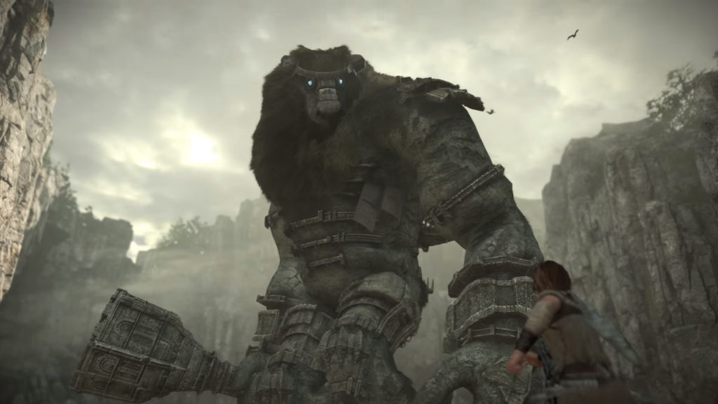 E3 2017,shadow of the colossus