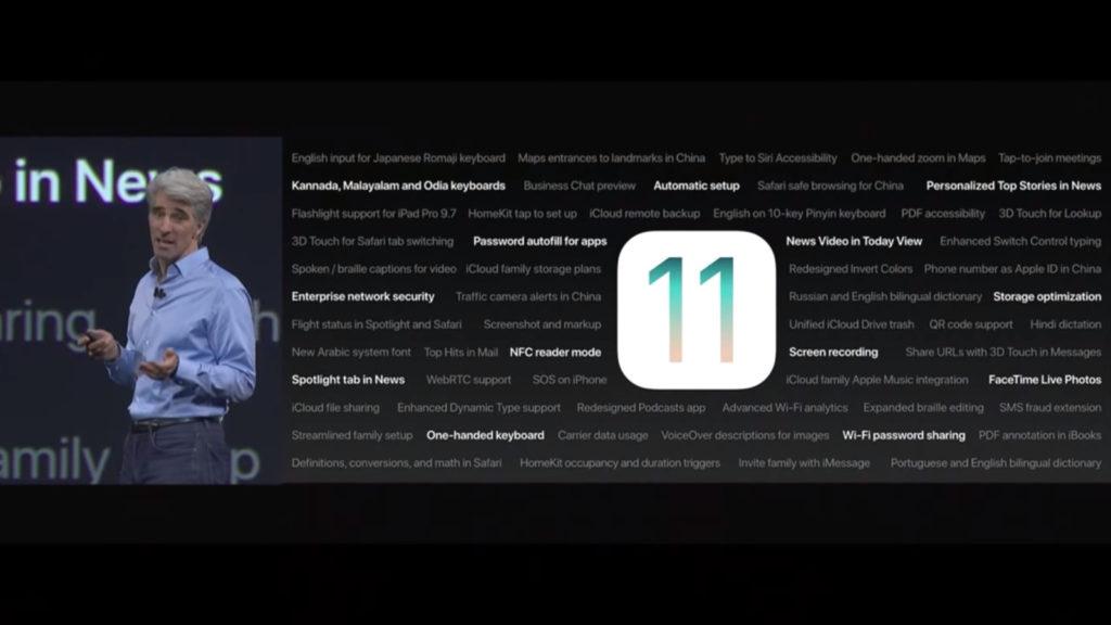 iOS 11,WWDC 2017,ios