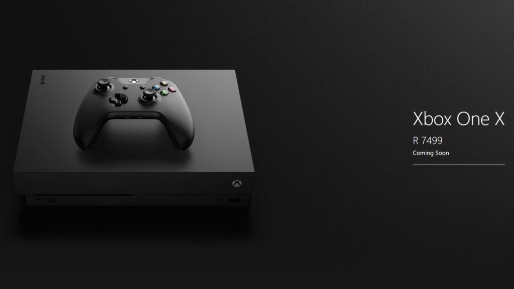 Xbox One X,E3 2017