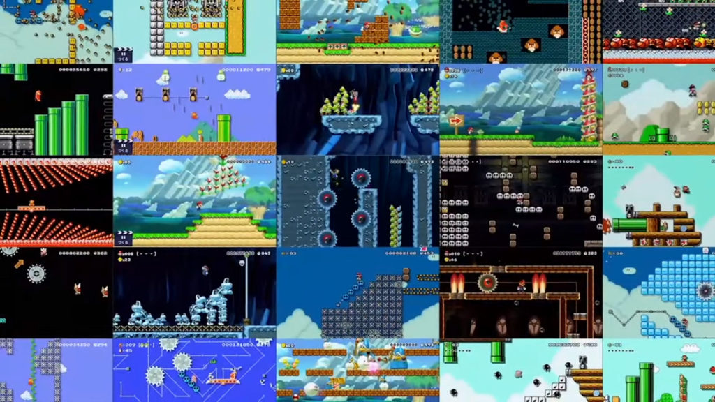Nintendo Switch,Super Mario Maker,Wii U