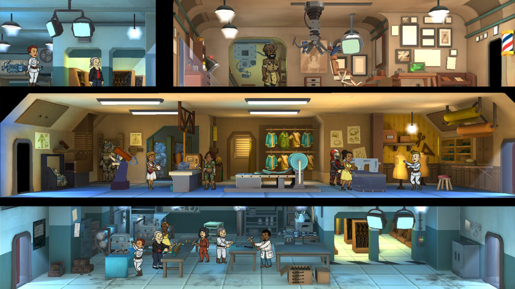 Fallout Shelter,gaming,mobile games