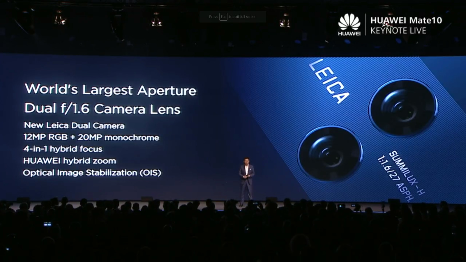 Huawei Mate 10 revealed, packing AI smarts and more - Gearburn