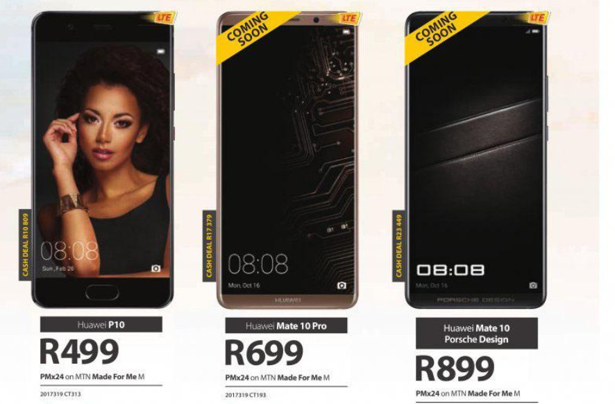 Mtn Reveals Prepaid Pricing For Mate 10 Pro Porsche Edition Gearburn
