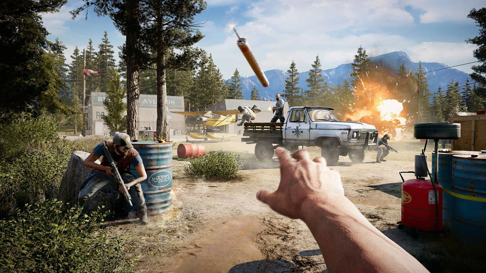 Far Cry 5 Season Pass Brings Zombies Mars Vietnam Far Cry 3 Gearburn