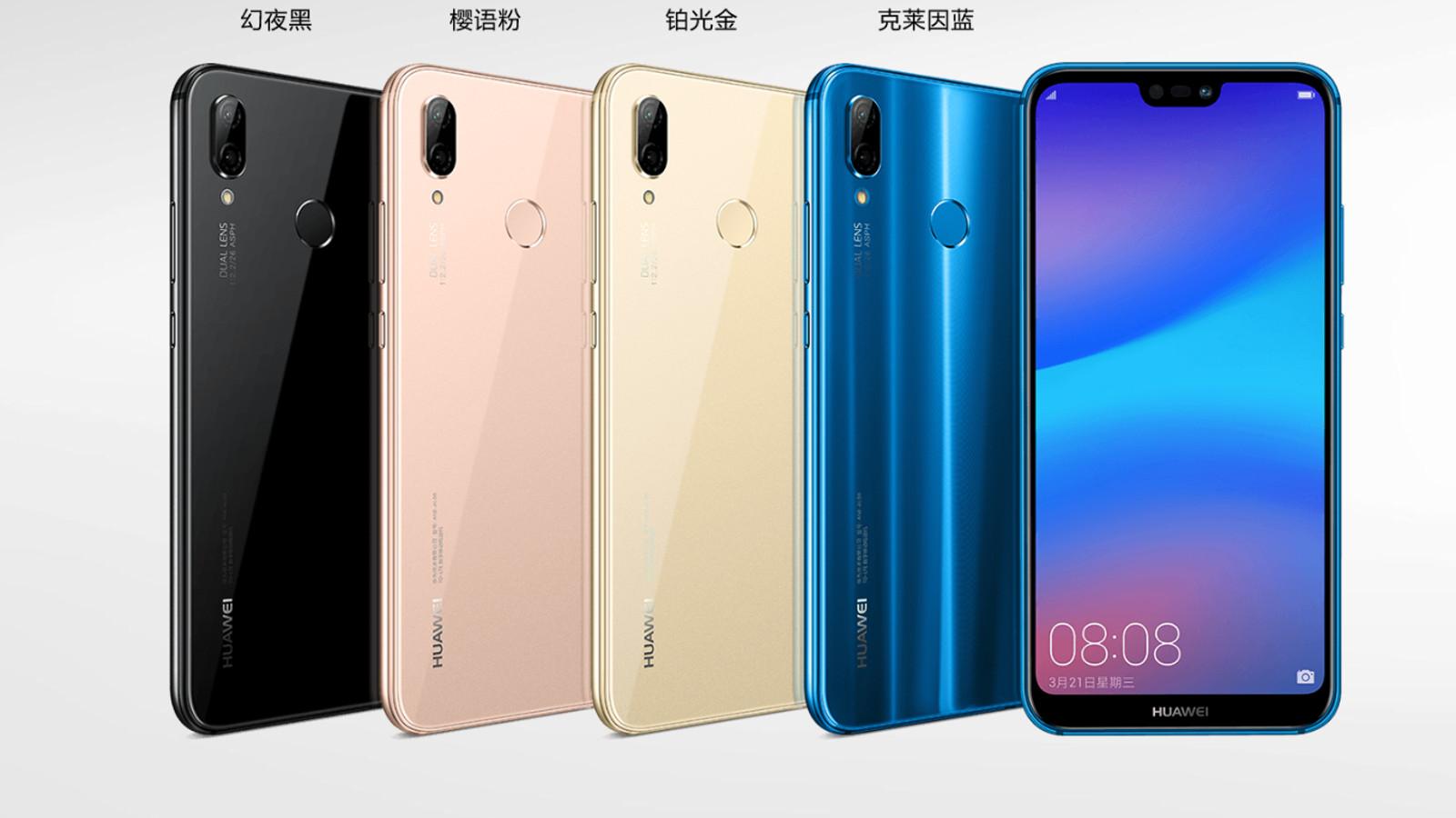 Huawei P20 Lite,Huawei Nova 3e