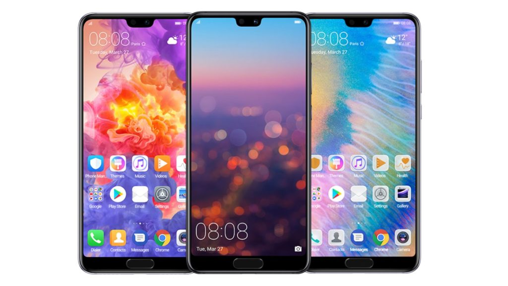 huawei p20 pro front stock