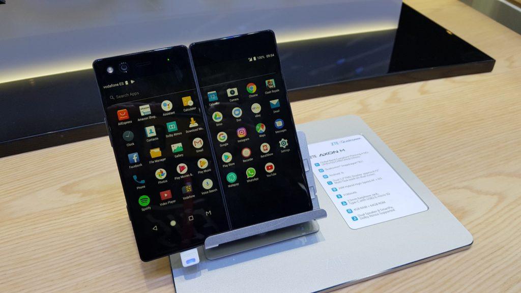 ZTE Axon M,smartphones