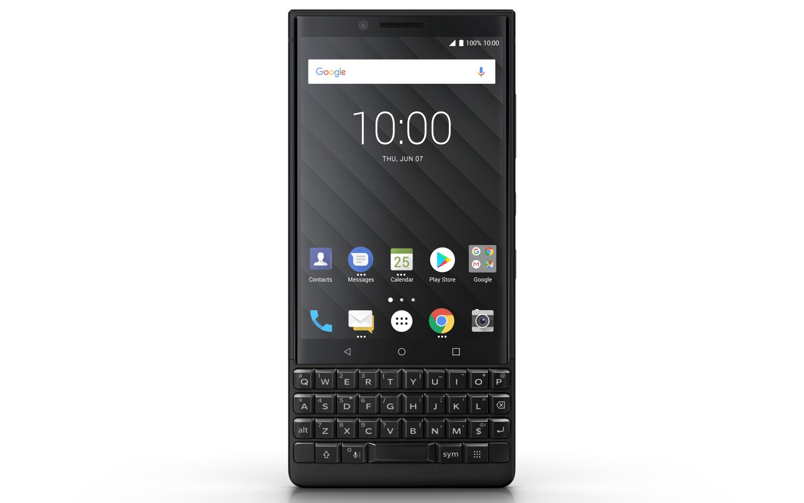 blackberry key2 front