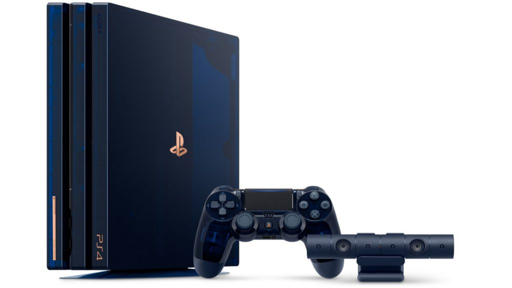 playstation 4 pro, limited edition, 500 million
