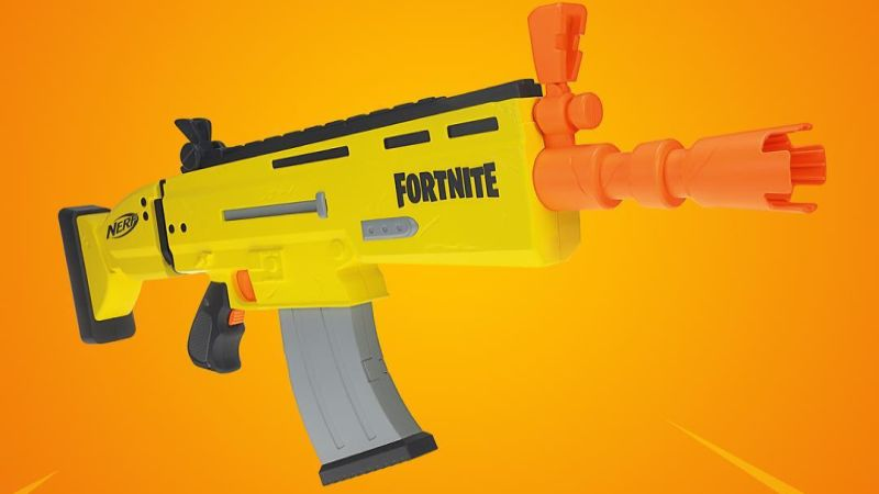 Epic Games, Hasbro to release a Fortnite-inspired Nerf rifle
