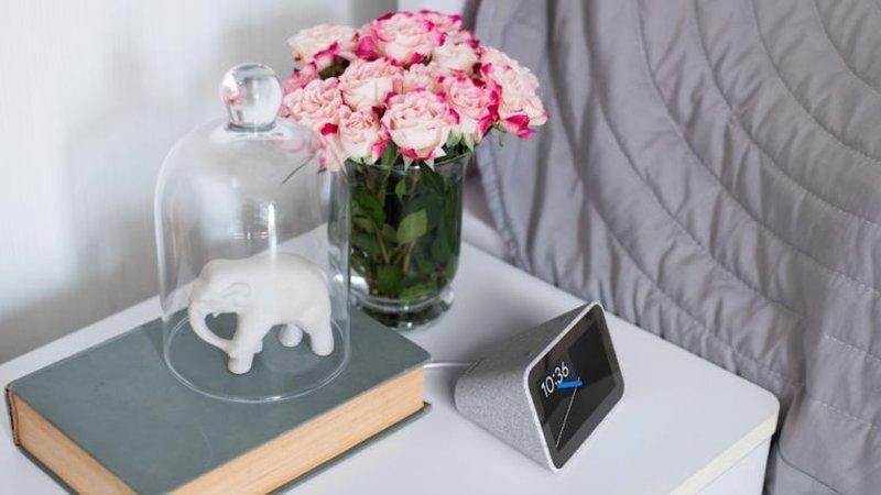 google assistant lenovo smart clock ces 2019