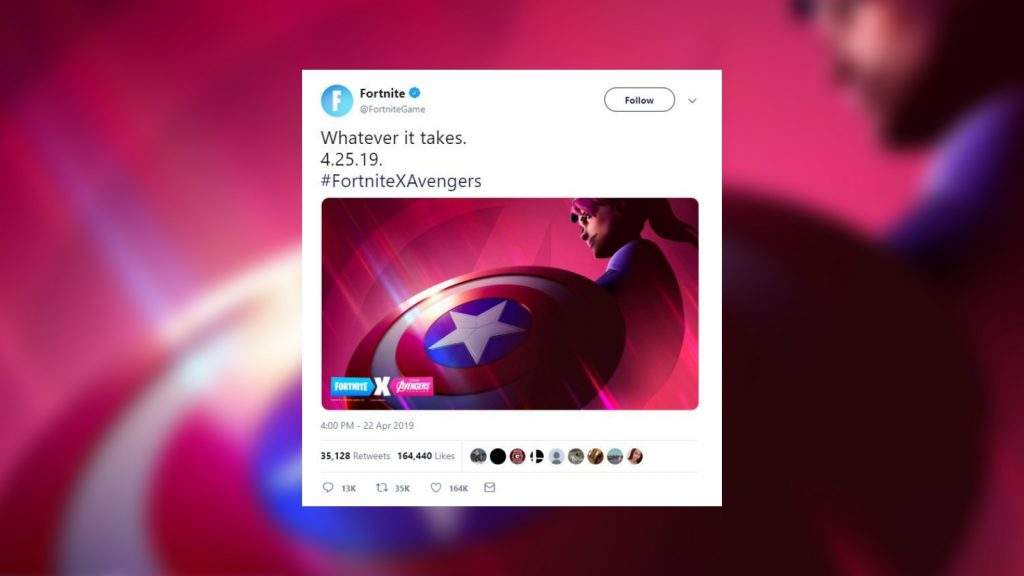Epic Games teases Fortnite and Avengers: Endgame crossover