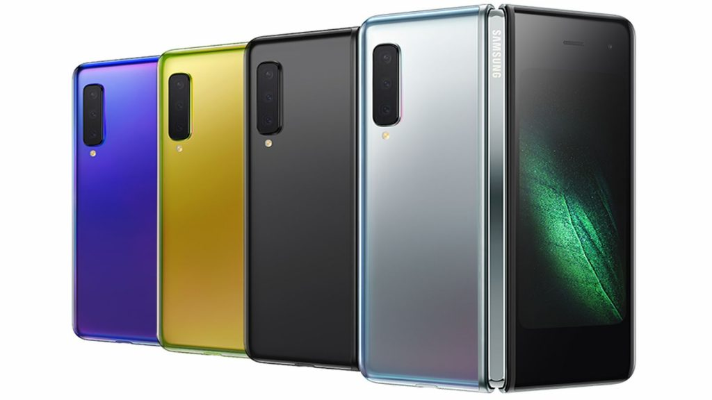 samsung galaxy fold colours