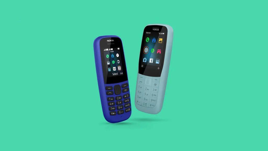 nokia 105 4g nokia 220 4g feature phones
