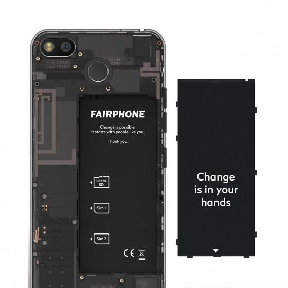 fairphone 3 smartphone battery