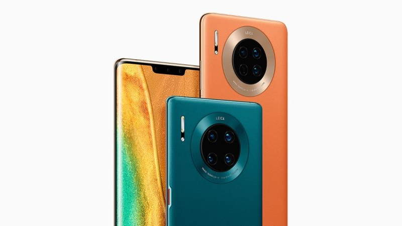 The Huawei Mate 30 series, including the Huawei Mate 30 Pro