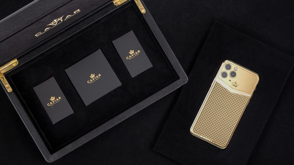 caviar iphone 11 pro box