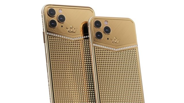 iphone 11 pro caviar gold edition