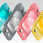 nintendo switch lite coral