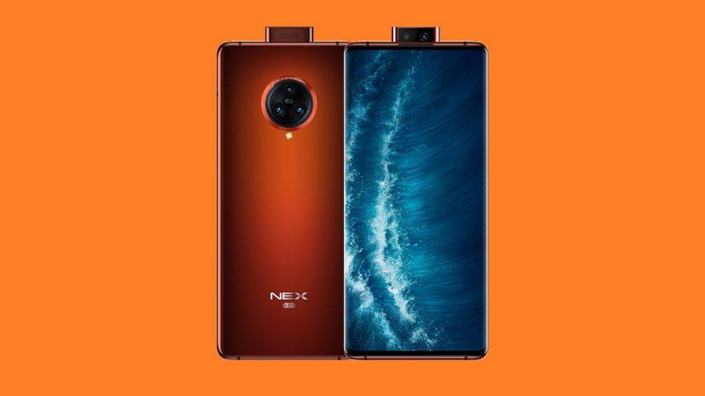 vivo nex 3s 5g smartphone