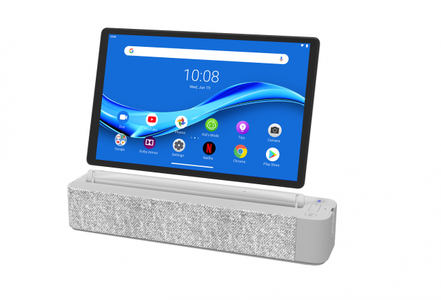 Lenovo Smart Tab M10 2nd gen with dock