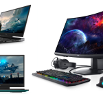 dell gaming laptop and devices