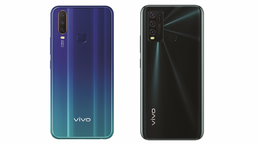 vivo y12 and y30 affordable smartphones