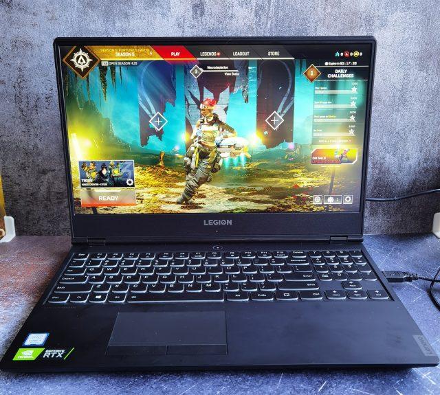 legion gaming laptop apex legends