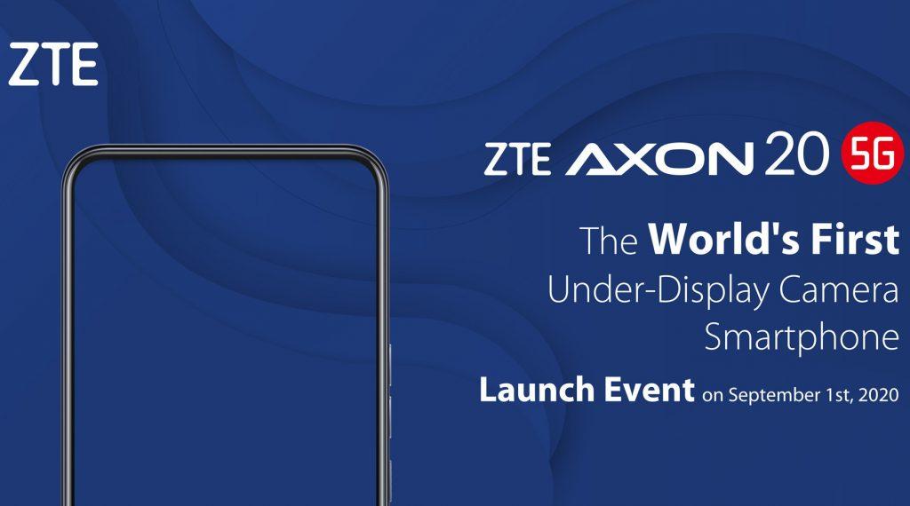 ZTE Axon 20 5G smartphone