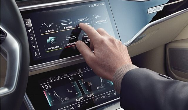 audi connect car dashboard