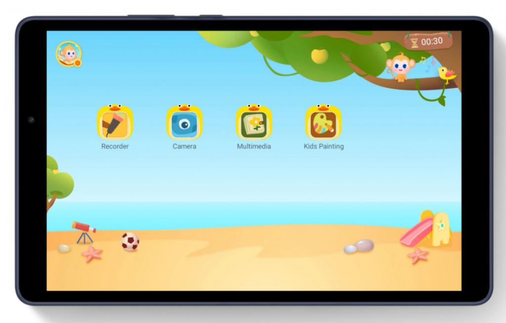 matepad t8 kids corner tablet app