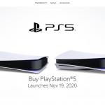playstation 5 orders