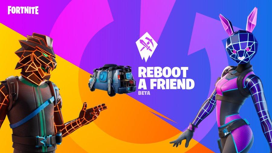 fortnite reboot a friend