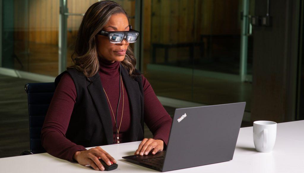 ThinkReality A3 smart glasses