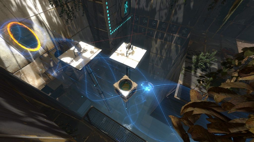 Valve Steam Portal 2 multiplayer remote play together