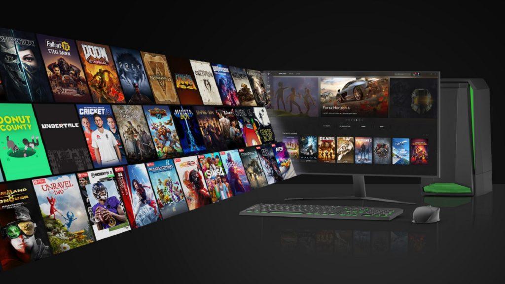 Microsoft Xbox Windows store games