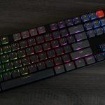 Keychron K1 wireless mechanical keyboard brown switch RGB
