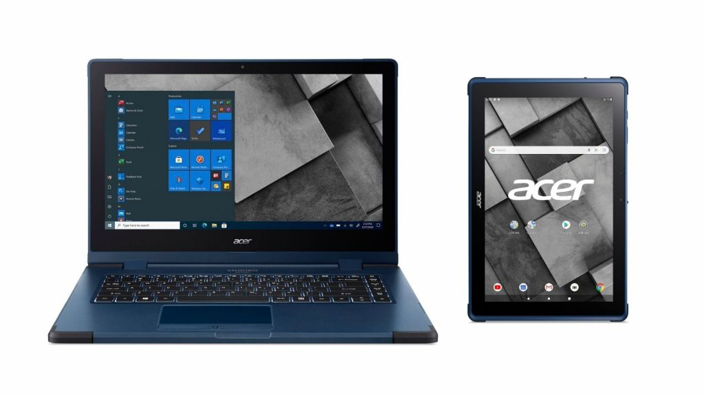 acer enduro urban laptop and tablet