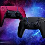 Sony PlayStation PS5 DualSense controllers cosmic red midnight black South Africa