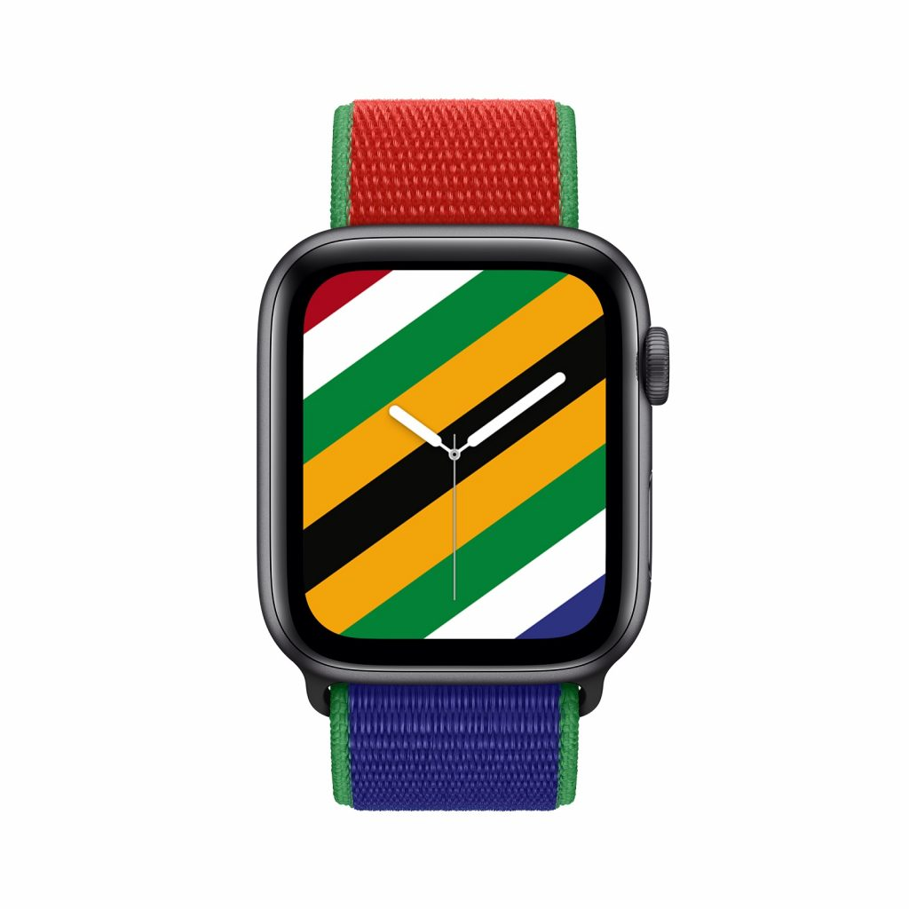 Apple Watch South Africa Olympic Games Tokyo 2021 face band