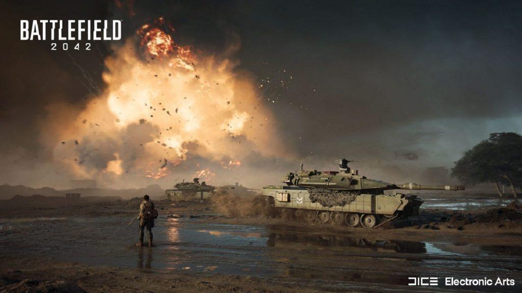 EA Electronic Arts Battlefield 2042 DICE multiplayer