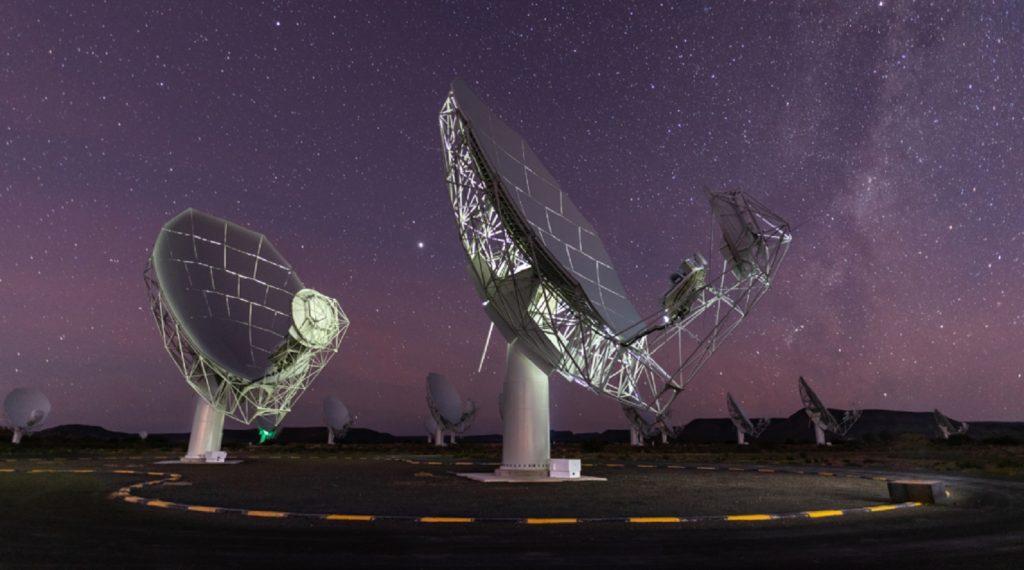 Square Kilometre Array SKA MeerKAT telescope South Africa Galaxies